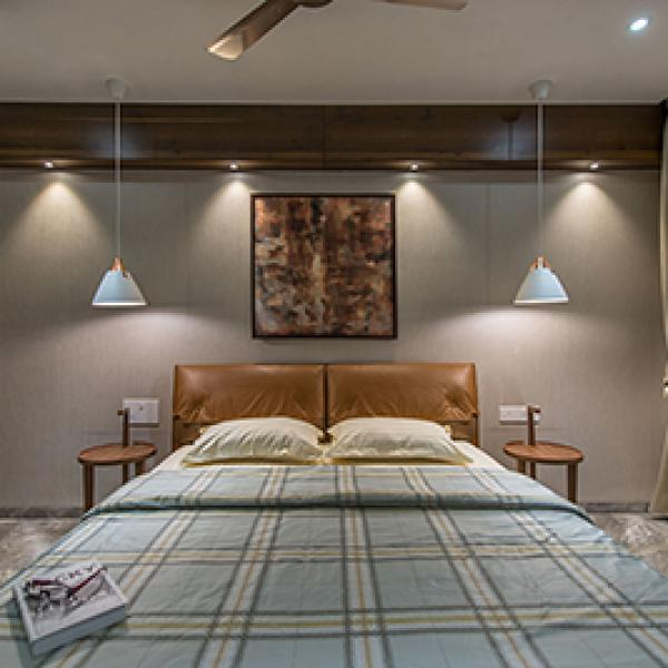 Manoj Doshi Apartment -Bedroom 2