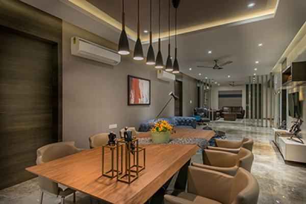 Manoj Doshi Apartment - Dining Room 2